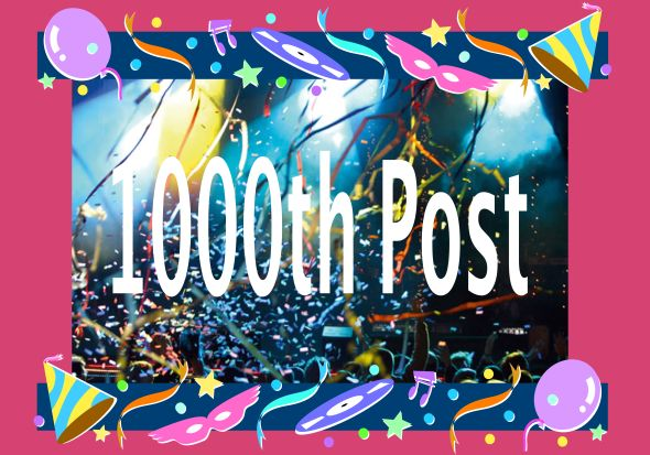 1000th post poster