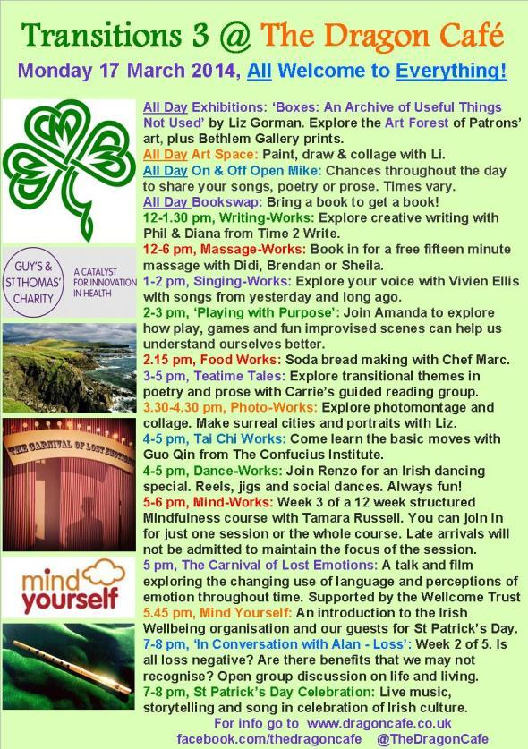 DC Programme- Monday 17 March 2014