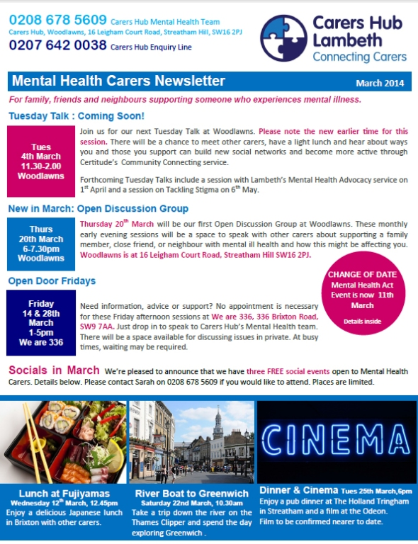 Lambeth Mental Health