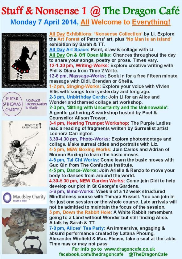 DC Programme- Monday 7 April 2014