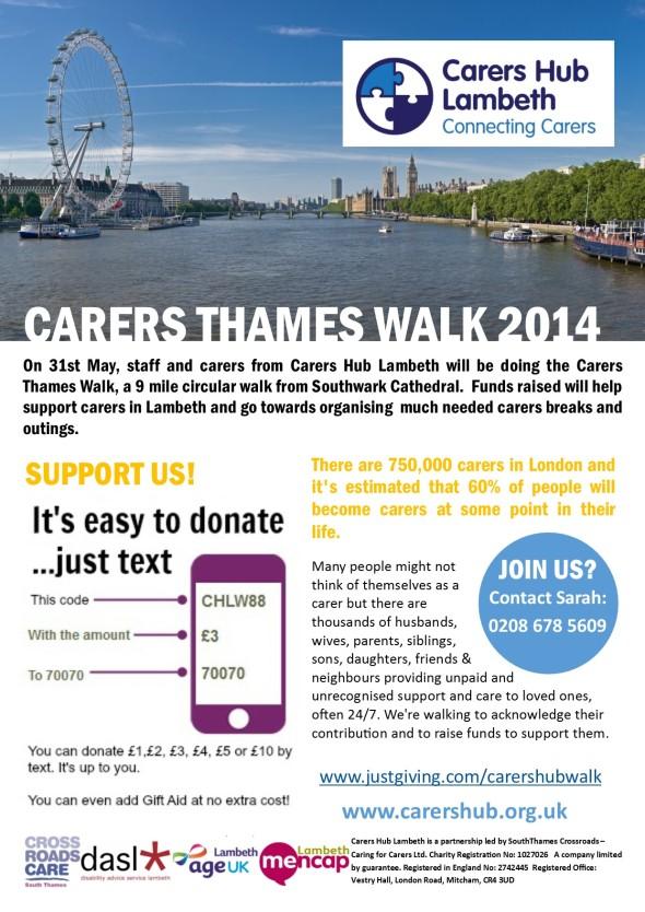 Carers Walk 2014