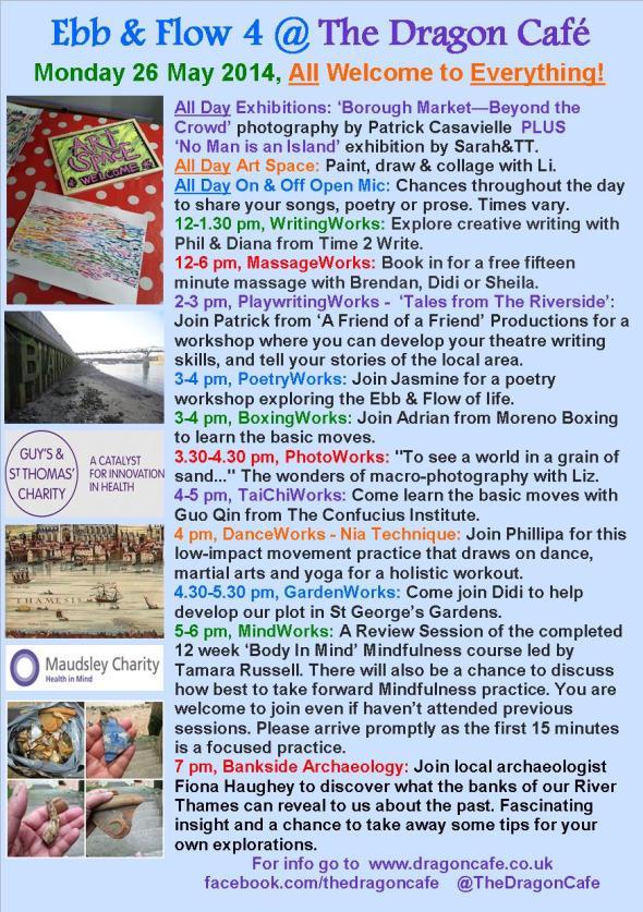 DC Programme- Monday 26 May 2014