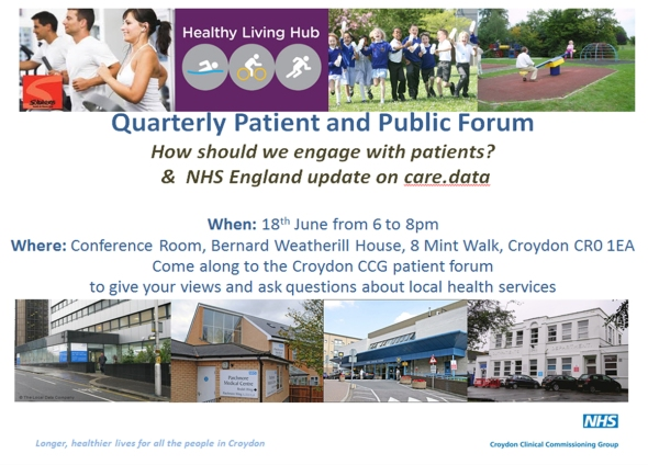June Patient Forum flyer copy