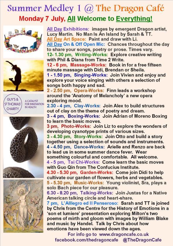 DC Programme- Monday 7 July 2014